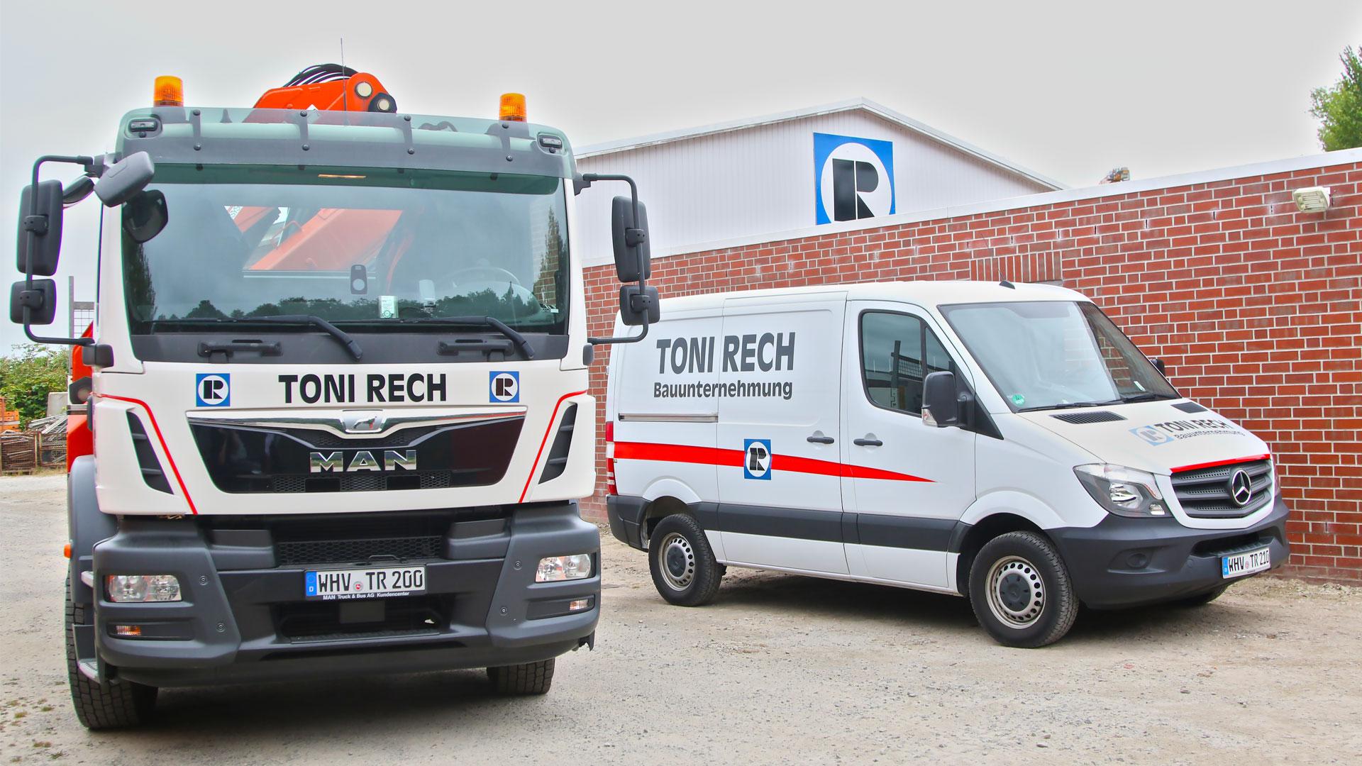 LKW und Sprinter von Toni Rechn